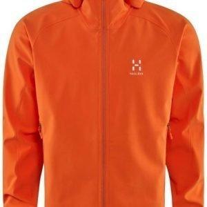 Haglöfs Gecko Lite Hood Men Oranssi XXL