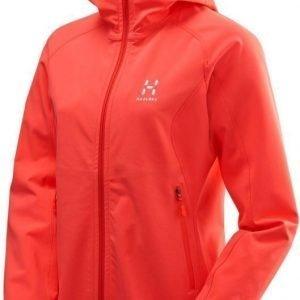 Haglöfs Gecko Lite Hood Women Punainen XL