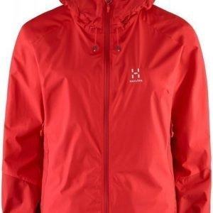 Haglöfs Glide II Jacket Women Punainen L