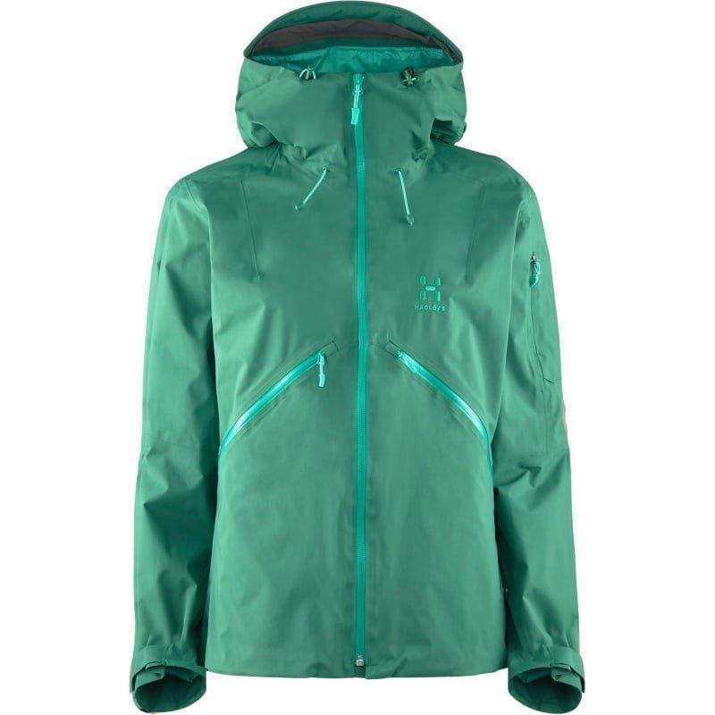 Haglöfs Khione Jacket Women L Marble Green