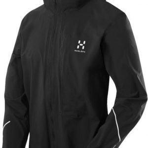 Haglöfs Lim Proof Jacket Women Black Musta XL
