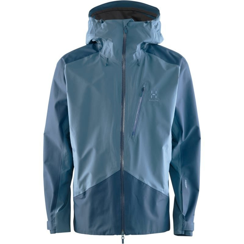 Haglöfs Niva Jacket Men's XL Steel Sky/Blue Ink