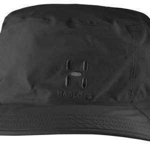 Haglöfs Proof Rain Hat Musta M/L