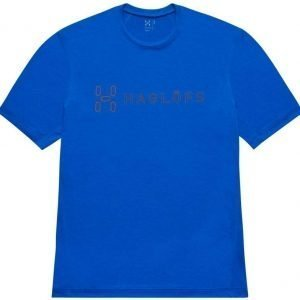 Haglöfs Ridge II Tee Sininen S