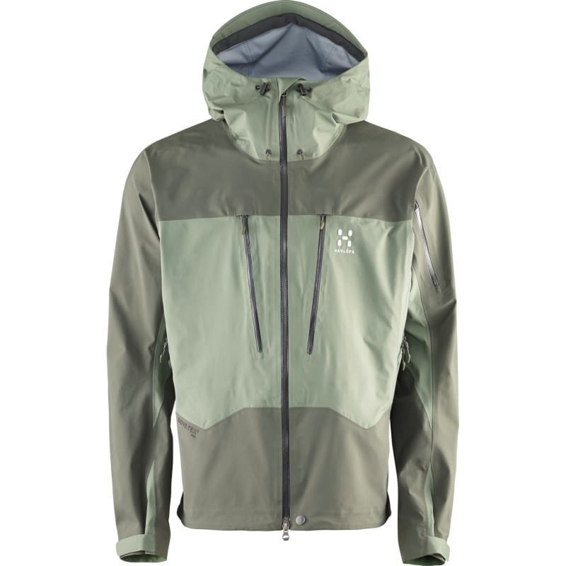 Haglöfs Spitz Jacket Men L Lite Beluga/Beluga