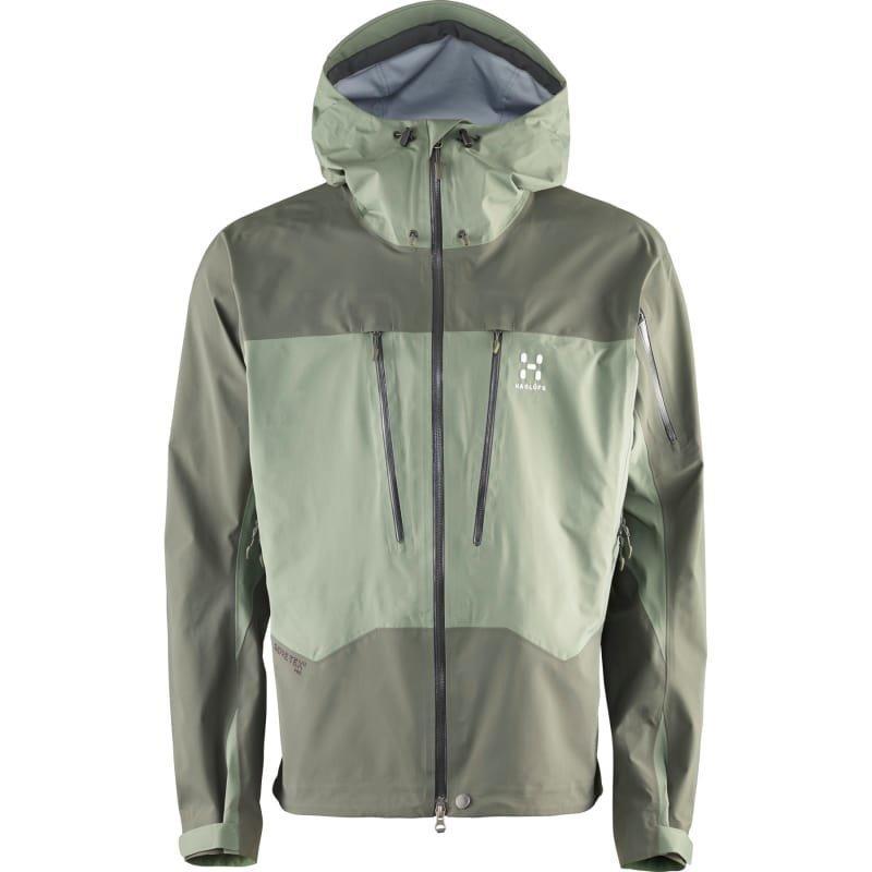 Haglöfs Spitz Jacket Men S Lite Beluga/Beluga