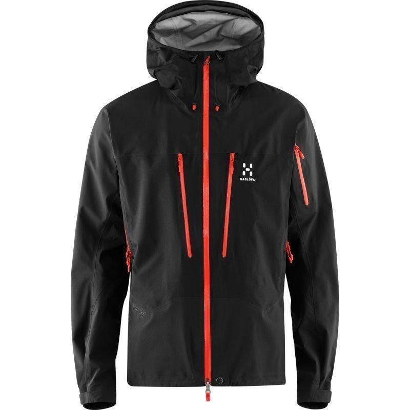 Haglöfs Spitz Jacket Men XL True Black/Dynamite