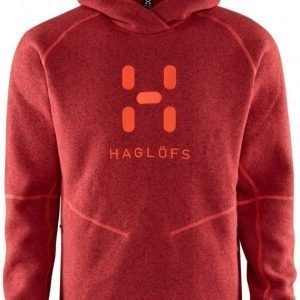 Haglöfs Swook Logo Hood Rubiininpunainen XXL
