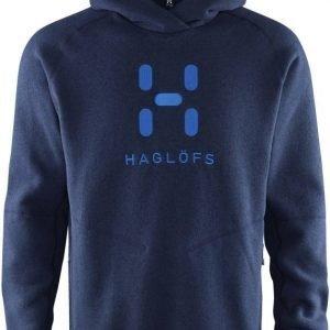Haglöfs Swook Logo Hood Tummansininen M