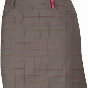 Halti Ilo Long Check Skirt Dark grey 42