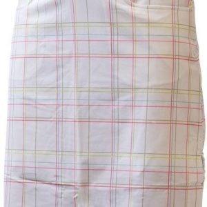 Halti Ilo Long Check Skirt Valkoinen 40