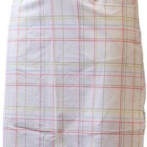 Halti Ilo Long Check Skirt Valkoinen 44