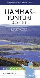 Hammastunturi-Saariselkä 1:100 000 2008