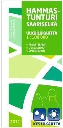 Hammastunturi-Saariselkä 1:100 000 2011 Kestokartta