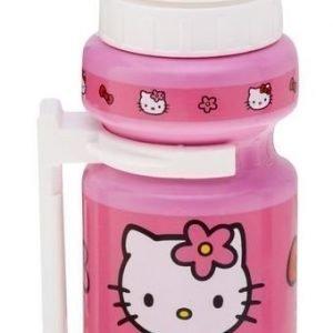 Hello Kitty juomapullo 300ml kiinnikkeellä.