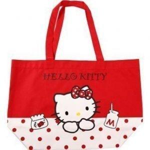 Hello Kitty kauppakassi m pun.pilkut