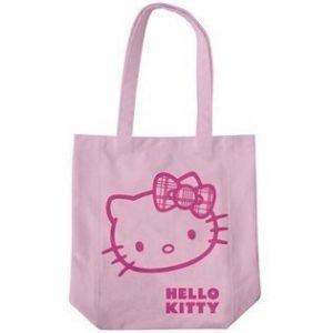 Hello Kitty kauppakassi rusetti vaalean pun.