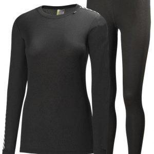 Helly Hansen Comfort Dry 2-Pack Women's Musta XL