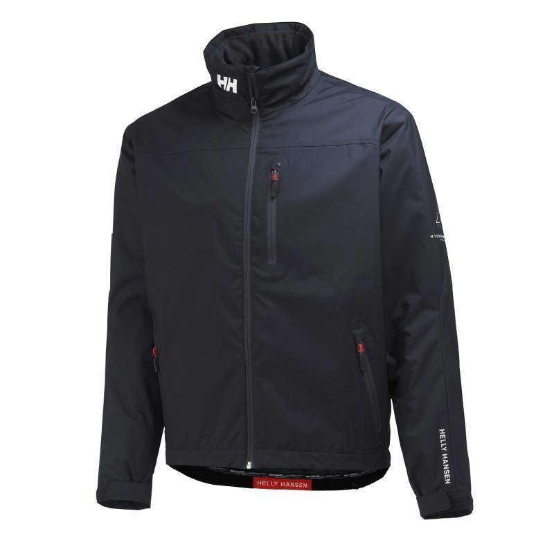 Helly Hansen Crew Midlayer Jacket M Black
