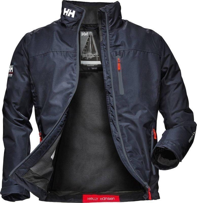 Helly Hansen Crew Midlayer Jacket Navy L