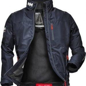 Helly Hansen Crew Midlayer Jacket Navy M
