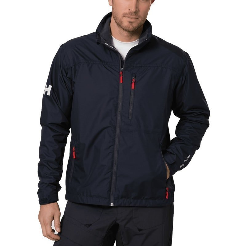 Helly Hansen Crew Midlayer Jacket S Navy
