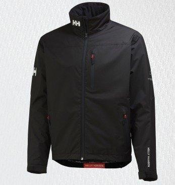 Helly Hansen Crew midlayer jacket miesten takki musta