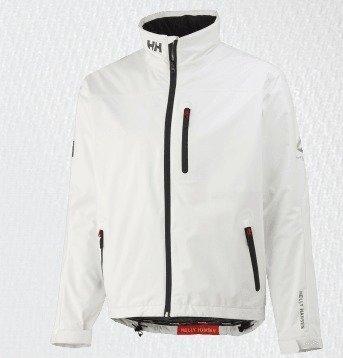 Helly Hansen Crew midlayer jacket miesten takki valkoinen