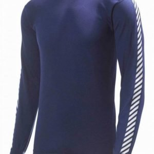 Helly Hansen Dry Stripe Crew Navy S