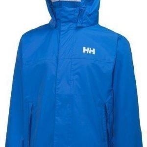 Helly Hansen JR LOKE pakattava sadetakki sininen