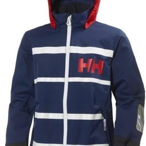 Helly Hansen JR Moss Jacket Tummansininen 140