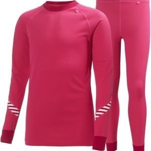 Helly Hansen Jr Dry Set Magenta 10