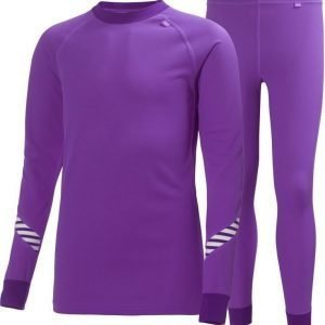 Helly Hansen Jr Dry Set Purple 10