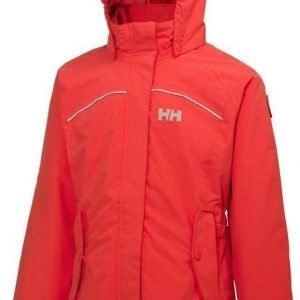 Helly Hansen Jr Hilton Jacket Punainen 176