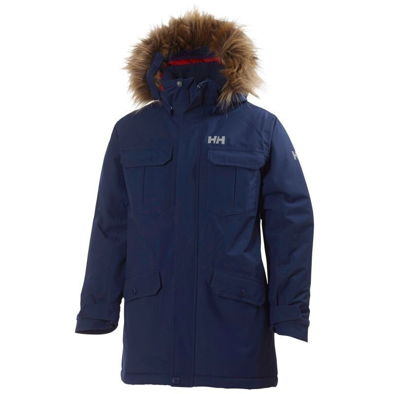 Helly Hansen Jr Legacy Parka 128 Evening Blue