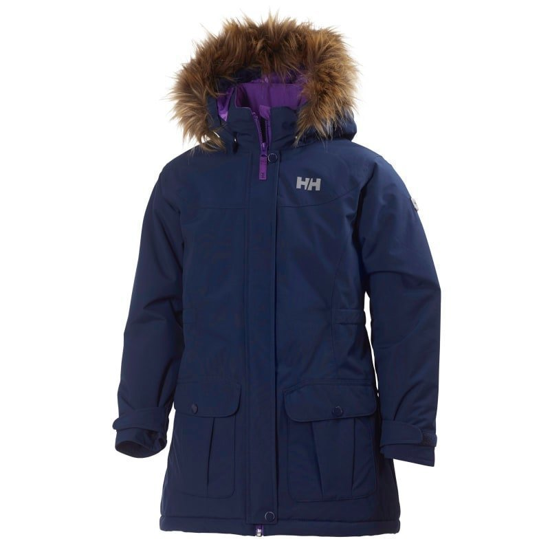 Helly Hansen Jr Stella Parka 140 Evening Blue