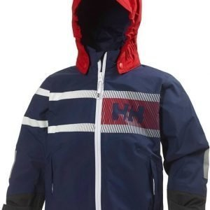 Helly Hansen Kids Pier Jacket Tummansininen 128
