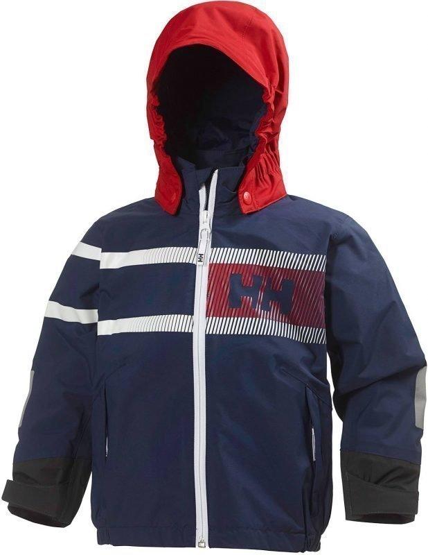Helly Hansen Kids Pier Jacket Tummansininen 134