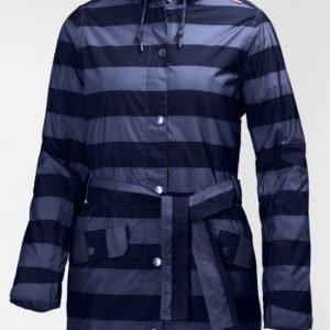 Helly Hansen LYNESS INSULATED naisten sadetakki evening blue denim stripe