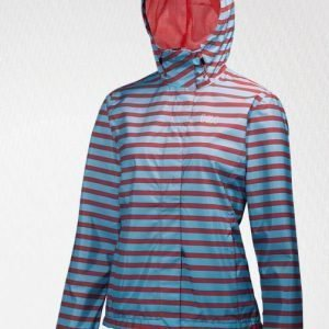 Helly Hansen NINE K JACKET sadetakki stripes summer red