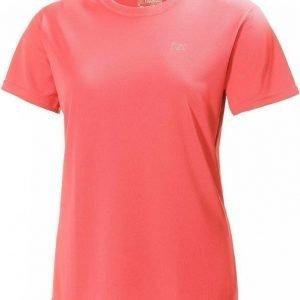 Helly Hansen Training Tee Women Vaaleanpunainen L