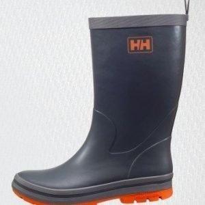 Helly Hansen miesten Midsund 2 kumisaappaat charcoal/mid grey/bur