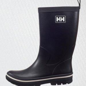 Helly Hansen miesten Midsund 2 kumisaappaat musta/valkoinen