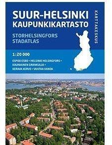 Helsinki Suur-Helsinki 1:20 000 2014