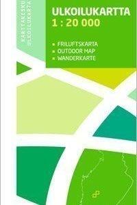 Helvetinjärvi Seitseminen 1:20 000 ulkoilukartta 2012