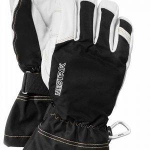 Hestra Army Leather GTX musta/valkoinen sormikas