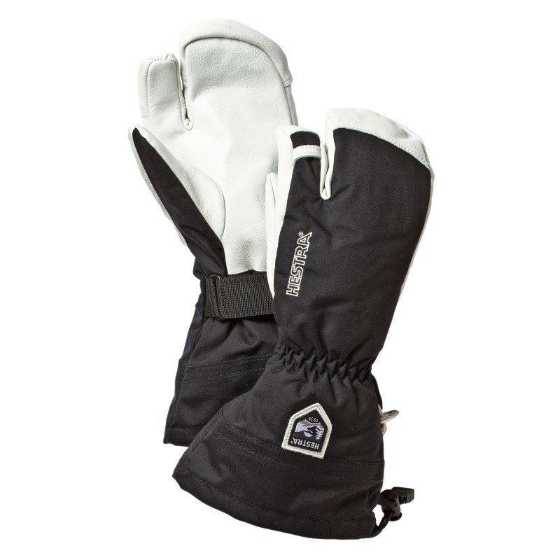 Hestra Army Leather Heli Ski 3 6 Black