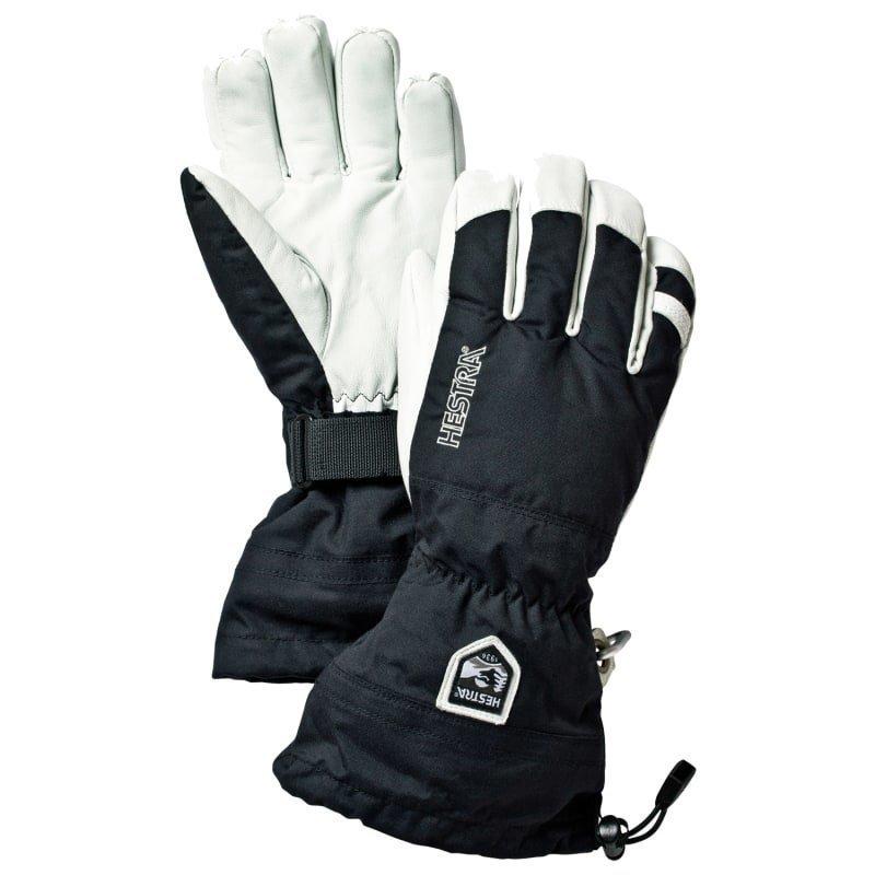 Hestra Army Leather Heli Ski 6 Black