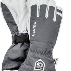 Hestra Army Leather Heli Ski Glove Harmaa 10