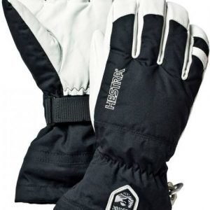 Hestra Army Leather Heli Ski Glove Musta 12